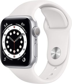 Apple Watch Series 6 GPS, 40mm Silver