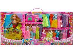 Набор кукла 28cm, одежда, аксессуары