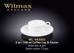 Ceasca WILMAX WL-993002 AB (100 ml сu farfurie)
