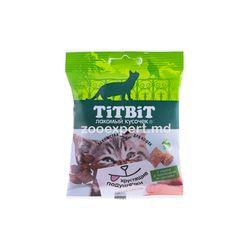 TiTBiT Хрустящие подушечки с сыром и паштетом из кролика 30 gr