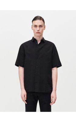 Рубашка RESERVED Чёрный zl035