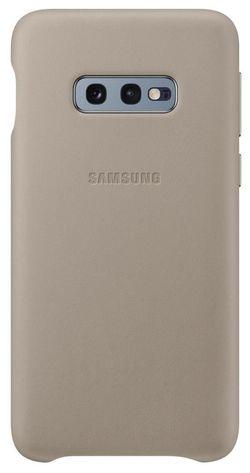 cumpără Husă telefon Samsung EF-VG970 Leather Cover S10e Gray în Chișinău
