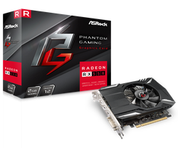 VGA ASRock Radeon RX550 2GB GDDR5 Phantom Gaming