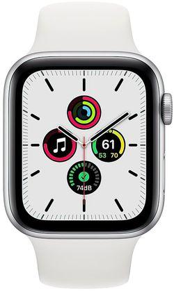 купить Смарт часы Apple Watch SE GPS, 44mm Silver Aluminium Case MYDQ2 в Кишинёве