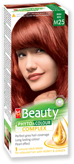 Краска для волос,SOLVEX MM Beauty, 125 мл., M25 - Ирландский рыжий