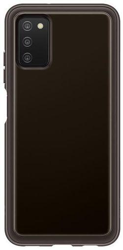 cumpără Husă pentru smartphone Samsung EF-QA037 Soft Clear Cover Galaxy A03s Black în Chișinău