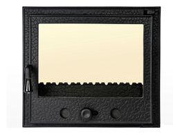 Дверца чугунная со стеклом Weekend - Olimpic mijlociu