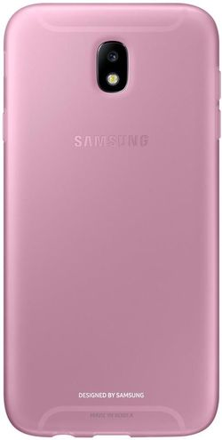купить Чехол для смартфона Samsung EF-AJ730, Galaxy J7 2017, Jelly Cover, Pink в Кишинёве