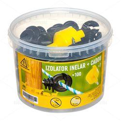 Izolator inelar, 100 buc. + dispozitiv de înfiletare