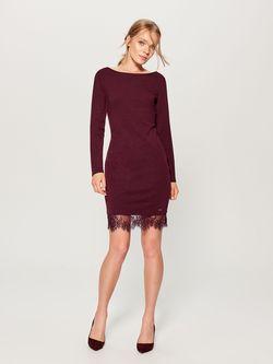 Платье MOHITO Темно Фиолетовый ub031-83x