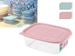 Container pentru produse Phibo Art-decor 1.25l roz/albastru