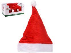 Шапка Деда Мороза классическая 40X30cm, полиэстер