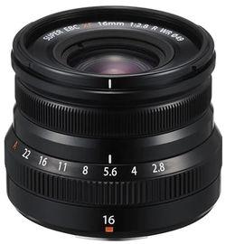 купить Объектив FujiFilm Fujinon XF16 mm F2.8 R WR bk в Кишинёве
