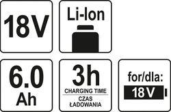 Acumulator pentru scule electrice Yato YT82845