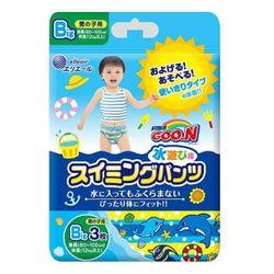 Трусики для плаванья Goon XL (12-17 кг) для мальчиков 3 шт