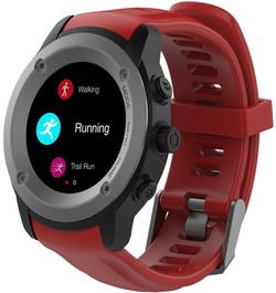 Смарт-часы Maxcom FitGo FW17 Power Titanium/Red