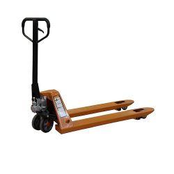 Ручная гидравлическая тележка специальная длина, 3.0t, 540x2000 мм, с резиновыми колесами
