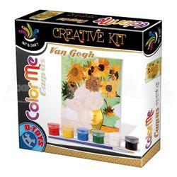 Set pentru desen (Van Gogh) - Floarea-soarelui, cod 41279