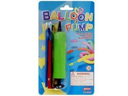 Насос ручной для воздушных шариков 17cm + 6 шариков