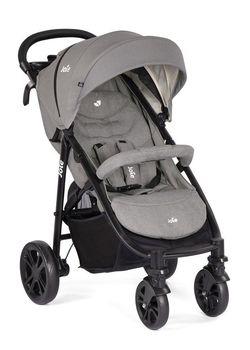 Прогулочная коляска Joie Litetrax 4 Gray Flannel