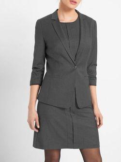 Пиджак ORSAY Серый 480228