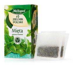 Ceai de plante Polish Herbarium Peppermint, 20 plicuri