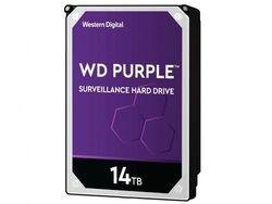 Жесткий диск 3,5 дюйма, 14,0 ТБ, SATA, 512 МБ Western Digital «Purple Surveillance (WD140PURZ)»