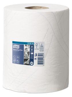 Протирочная бумага в рулоне с центральной вытяжкой M2, 2сл., 125м, 34x23.5, 368/6, Белый, Advanced