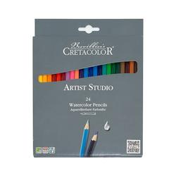 Набор цветных акварельных карандашей, 24 шт, Artist Studio Cretacolor