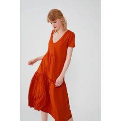 Платье ZARA Оранжевый 4873/357/615