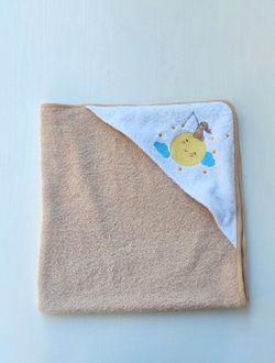 Полотенце для купания с уголком Sun 76*76 см Pampy