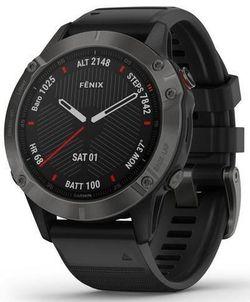 купить Смарт часы Garmin Fenix 6 Sapphire, Gray w/Black Band в Кишинёве