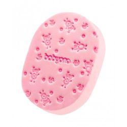 Губка для купания BabyOno розовая