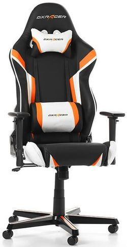купить Gaming кресло DXRacer Racing GC-R288-NOW-Z1, Black/Orange/White в Кишинёве