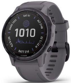 купить Смарт часы Garmin fenix 6S - Pro Solar Edition Amethyst Steel with Shale Gray Band в Кишинёве