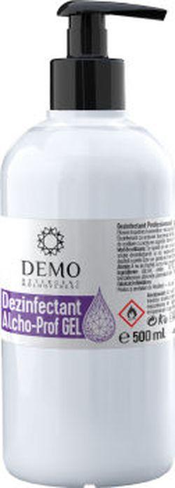 * Dezinfectant Gel pe baza de alcool 500 ml