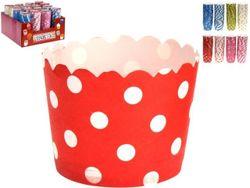 Формы для кексов бумажные Party 25шт, D6сm, H4cm