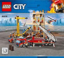 LEGO City Центральная пожарная станция, арт. 60216