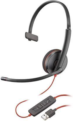 cumpără Cască cu microfon Plantronics BLACKWIRE C3210 USB-A (PLC00228) în Chișinău