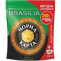 Кофе Черная Карта Exclusive Brasilia 400гр
