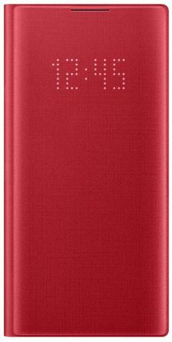 купить Чехол для моб.устройства Samsung EF-NN970 LED View Cover Red в Кишинёве