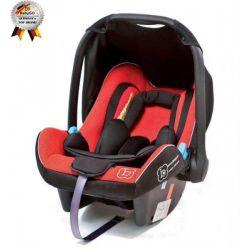 Автокресло BabyGo Traveller Xp Red (0-13 кг)