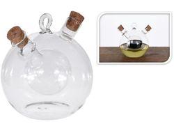 Бутылка для масла и уксуса 2in1 12X12cm