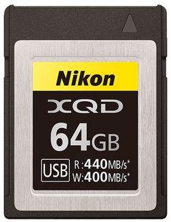 Сard de memorie Nikon XQD 64Gb