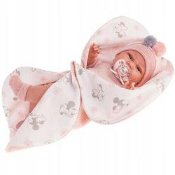 Doll baby Clara cu manechin și pătură, 34 cm Cod 7042