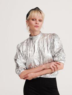 Bluza RESERVED Argintiu