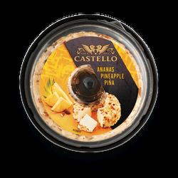 CASTELLO ™ Crema de brinza cu ANANAS 125 g.
