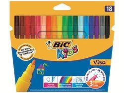 Набор фломастеров моющихся 18шт BIC Visa