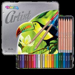 Цветные карандаши Artist 24 шт. Colorino