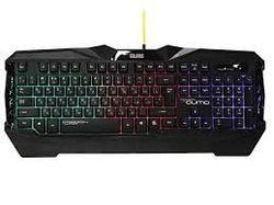 Tastatură pentru jocuri și mouse și mouse pad Qumo Solaris, Anti Ghosting, Backligh, Negru, USB